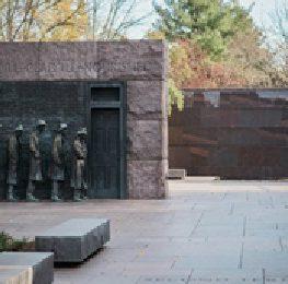 The Bread Line - Roosevelt Memorial, DC