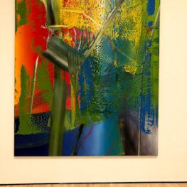 Ich - Acrylic paint on canvas (A.R. Penck